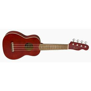 Fender Acoustics 《フェンダー・アコースティック》 VENICE SOPRANO UKULELE Cherry 【チョイキズ特価】