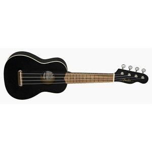 Fender Acoustics 《フェンダー・アコースティック》 VENICE SOPRANO UKULELE Black 【チョイキズ特価】