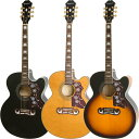 Epiphone by Gibson 《エピフォン》 EJ-200SCE