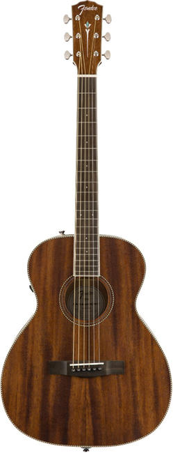 Fender Acoustics 《フェンダー・アコースティック》 PM-TE All-Mahogany Travel 【特価】