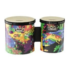 "REMO 《レモ》LREMKD540001 [Kids Percussion Bongo Drum/Fabric Rain Forest,5""-6""]"