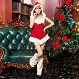 クリスマス衣装 レディース コスプレ 仮装 コスチューム 演出服 ワンピース 大人用 パーティー イベント Charitmas