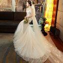 ウェディングドレス マーメイドドレス ロングドレス 花嫁 ウエディングドレス 結婚式 マーメイドライン パーティード…