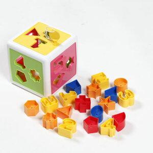 1歳〜3歳 色・形・数字を学べる! かくっこパズル☆★