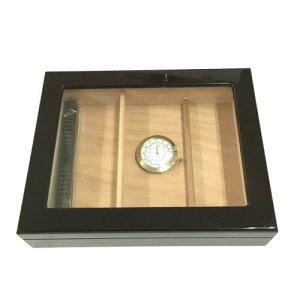 木製 オリジナル シガーボックス HL110g ヒュミドール 湿度計付きセット【取寄せ品】