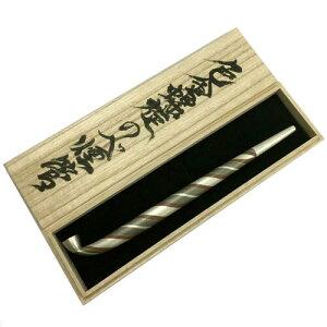 キセル きせる 相川千明氏 色金螺旋(らせん)のべ煙管 喫煙具