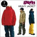 【 17-18 2018 GREEN CLOTHIG HEAVY JACKET 】グリーンクロージング ヘビージャケット スノーボードウェア
