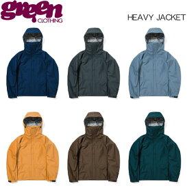 【19-20 GREEN CLOTHIG HEAVY JACKET】グリーンクロージング ヘビージャケット スノーボードウェア 2020 送料無料