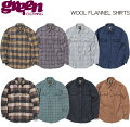 GREEN_CLOTHING_WOOL_FLANNEL_SHIRTS