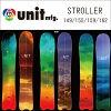 Unit strike roller snowboarding 149/155/159/162 [powder /-free orchid]