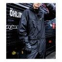 撥水 防風 つなぎ オールシーズン メンズ レディース 作業服 ツナギ オールインワン レインスーツ かっこいい おしゃ…