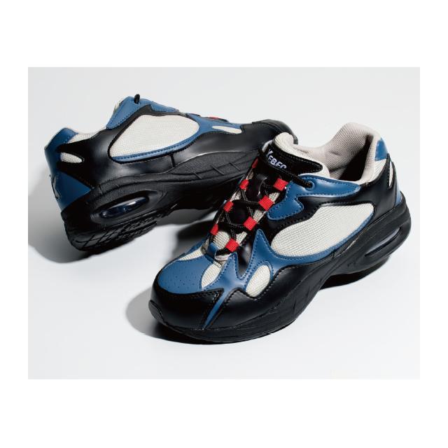 XEBEC ジーベック 85101 セフティシューズ素材:[アッパー]合成皮革+メッシュ[ソール]EVA+ラバーサイズ:23.0-29.0(ウィズ:EEEE)ローカット 安全 セーフティー シューズ スニーカー ダッドスニーカー メンズ レディース かっこいい作業服