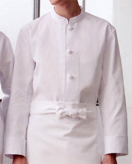 417 60 Single Coats All Solid Long Sleeve Kitchen Style Of White Uniforms Kazen