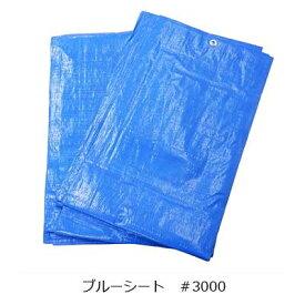 ブルーシート(#3000)10m×10m【厚手・風養生・雨養生】