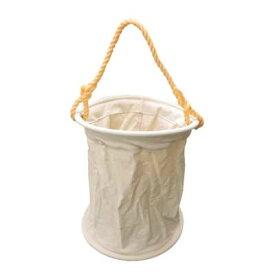 帆布工具バケツ【電工袋・水のう袋・荷揚げバッグ】