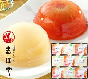 完熟トマトと白桃の紅白ゼリー詰合せ (9個入) プレゼント ギフト お祝 お返し 内祝 高級 お取り寄せ