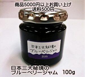 日本三大秘境のブルーベリージャム(100g)