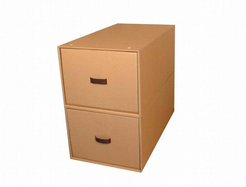 収納ボックス2個組(奥行き80cm×幅39cm×高さ30cm)スチール枠・インデックスシール付