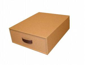シェルフ・ラック収納ボックス ダンボール製 完成品 約幅28cm/奥行35,5cm/高さ11cm