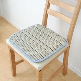 い草シートクッション 涼仙 約40×40cm プレス加工で表面なめらかタッチ 涼しい ひんやり 座布団 四角型