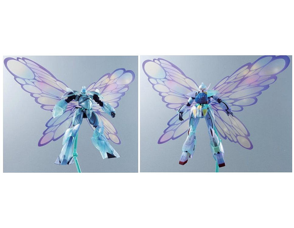 ROBOT魂 ターンエーガンダム VS ターンX 月光蝶対決セット