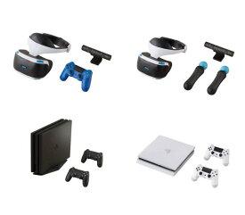 バンダイ ガシャポン!コレクション PlayStation 4 & PlayStation VR 全4種セット