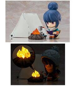 ねんどろいど ゆるキャン△ 志摩リン DX Ver. 「焚き火用 ゆらいで光るLEDユニット」付き