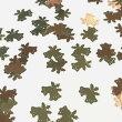 (10枚セット)ベルのメタルパーツBクリスマスモチーフレジン封入ゴールド鈴ハンドメイド