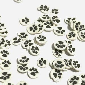 (2gセット)肉球のデコパーツ猫犬動物ラウンドアニマルネコキャットドッグ樹脂パーツデコレジン封入
