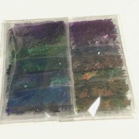 蝶のホログラムセット 12色セット カメレオンカラー メタリック 蝶々 チョウ バタフライ レジン封入 パーツ ハンドメイド