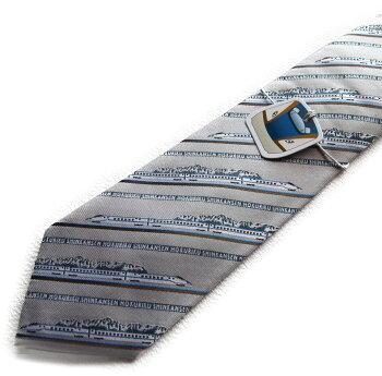 北陸新幹線のネクタイ!電車好きにはたまらないキャラクターネクタイです。「かがき」