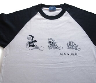 忍者帽子再kun父母子女T恤动画人物的父母子女T恤