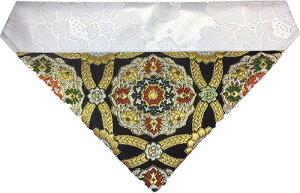 正絹 打ち敷き (仏壇 三角 打敷 内敷き)最高級の正絹を利用した打ち敷き 日本製 (幅91cm (300代))