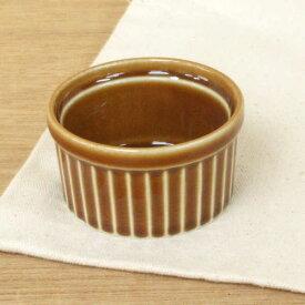 ココット皿 7cm ブラウンスフレ日本製 業務用 耐熱 ラメキン スフレ プリンカップ グラタン ココット 容器