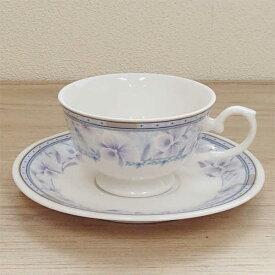 ティーカップ&ソーサー ブルーブーケ 業務用食器 カフェ 食器 通販