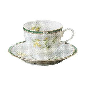 コーヒーカップ&ソーサー ニューボン ハーブコーヒーカップ 陶器 業務用 美濃焼
