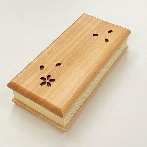 木製過去帳 さくら 日付なし 3.5寸樺櫻