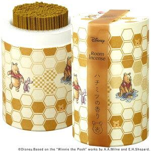 ディズニー線香 くまのプーさん【はちみつの香り】筒型 ミニ寸約90gお香 お部屋香(H)