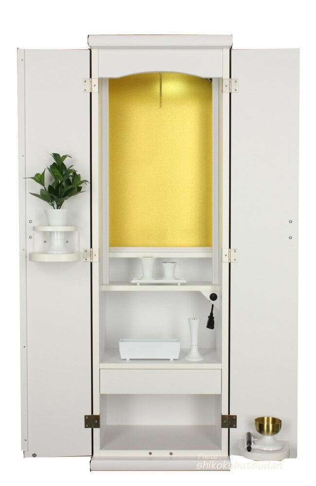 ◆創価学会 仏壇 家具調 スマート ホワイト