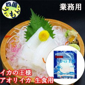 【送料無料】アオリイカ 生食用 無添加 お刺身用(1kg) 1ケース