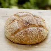 天然酵母メロンパン