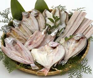 矢野鮮魚 瀬戸内海天然魚の一夜干 40