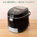 【全品エントリーでポイント5倍!】【送料無料】サンコー糖質カット炊飯器LCARBRCK6合炊き炊飯ジャー