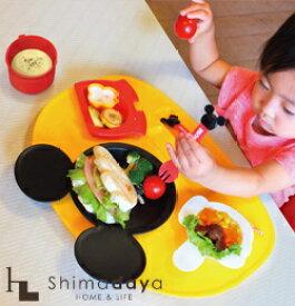 ミッキーマウス ミニーマウス アイコン ベビー食器8点セット 食器セット お食事用品 電子レンジ対応 ラッピング対応 出産お祝い 1歳 誕生日【SIM】