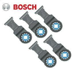 ボッシュ(マキタ・日立製工具にも使用可能) マルチツール用ブレード(スターロック)(5枚セット) AIZ32ATN/5(金属用)(刃幅:32mm 刃長:40mm)(超硬製、ステンレス・金属全般用)