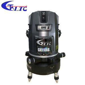 テクノ販売 フルライン電子整準プラチナグリーンレーザー墨出し器 LTC-GX910BB + スマートベース(自動追尾機能)SB-G(受光器・三脚付)セット品 ◆