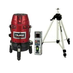 タジマツール フルラインスタンダードレーザー墨出し器(NAVIゼロKJC)(自動追尾用受光器・三脚セット) ZERON-KJCSET