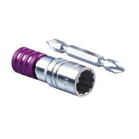 スーパーツール 電ドルソケットビット(ビット着脱式) DSB13 パープル 13mm