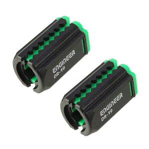 エンジニア(ENGINEER) DR-19 ネジキャッチ2P グリーン(対応サイズ:4〜6.35mm) ◇