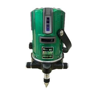 テクノ販売 [2019年モデル]グリーンレーザー墨出し器 LTC-SSG500(縦3方向矩・横120°水平ライン・地墨・鉛直十字) ◆